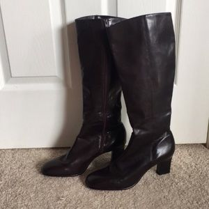 ANN TAYLOR ☆ Florence Leather Heeled Boots